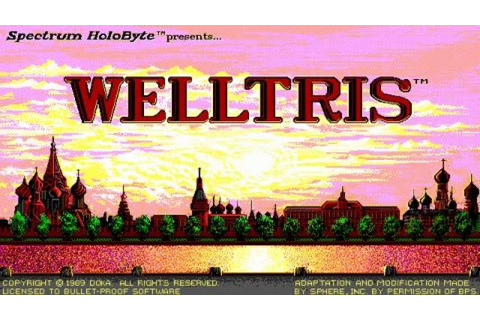 Welltris gameplay (PC Game, 1989) - YouTube