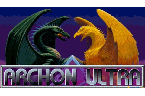 Archon Ultra gameplay (PC Game, 1994) - YouTube