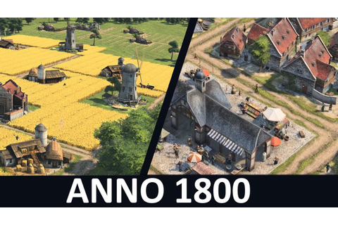 Anno 1800 Gameplay | Game Footage - YouTube
