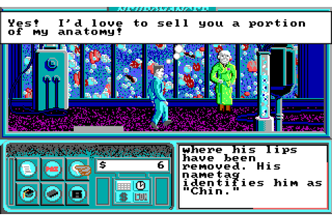 Neuromancer (1989) by Interplay MS-DOS game