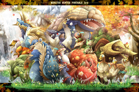 Monster Hunter Portable 3rd Wallpaper and Background Image ...