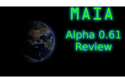 Maia Game Review [Early Access Review Alpha 0.61] - YouTube