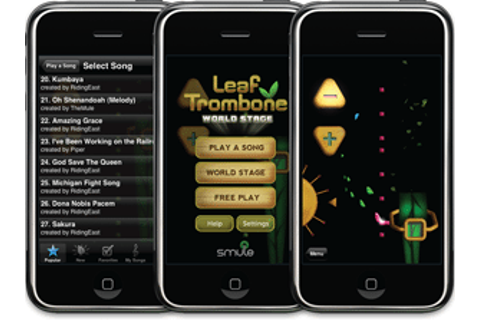 Apple iPhone Apps: Leaf Trombone World Stage ...