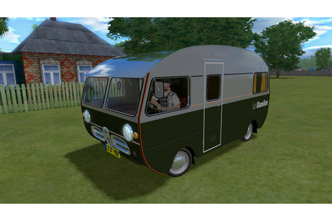 "SAAB Caravan 92HK Motorhome mod for game ""City Car Driving"""