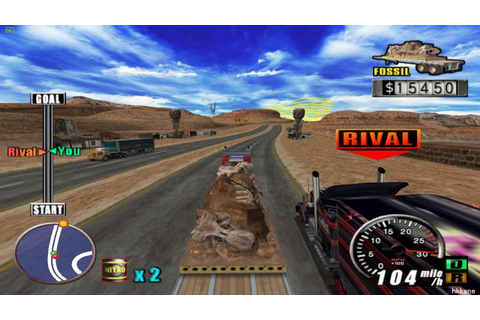 PS2 The King of Route 66 Gameplay - YouTube