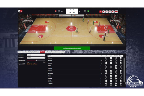 Basketball Pro Management 2015 (PC) - GM Games
