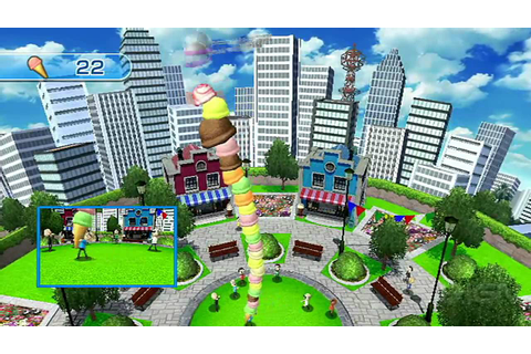 Wii Play: Motion - Cone Zone Gameplay - YouTube