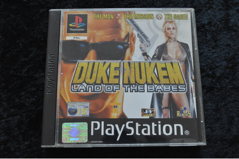Duke nukem land of the babes Playstation 1 PS1 - Standaard