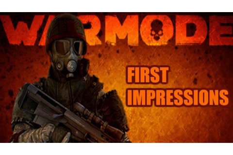 War Mode - First Impressions - The 300MB game!?!!!? - YouTube
