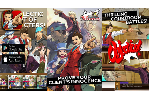 Apollo Justice Ace Attorney - iOS / Android Game Trailer ...
