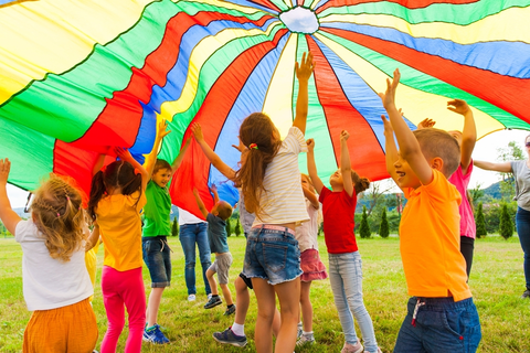 7 Fun Parachute Games for All Ages (Toddlers to Seniors ...