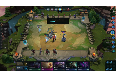 League Of Legends' 'Teamfight Tactics' Auto Chess Spin-Off ...