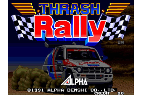 Thrash Rally Review for Neo Geo (1994) - Defunct Games