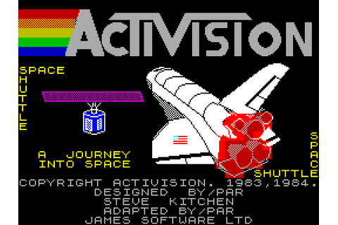 Space Shuttle: A Journey into Space (1984) by Activision ...