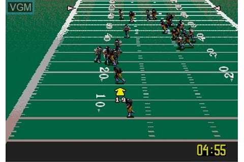 NFL Quarterback Club 96 for Sega Megadrive - The Video ...