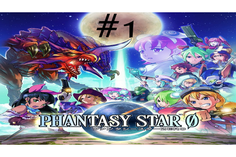 Let's Play Phantasy Star Zero - Episode 1 - YouTube