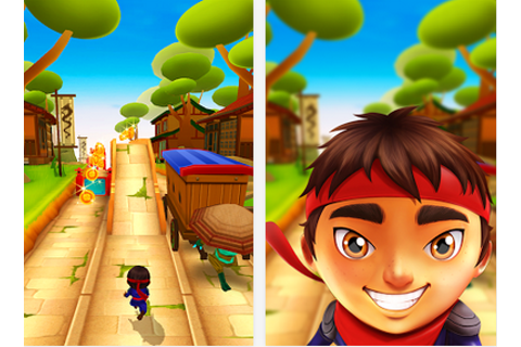 Ninja Kid Run Free - Fun Game Free Android Download - Free ...