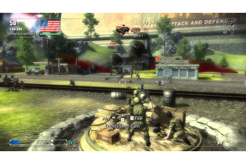 Toy Soldiers: Cold War - Demo Review [ Xbox Live Arcade ...