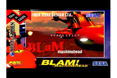 Blam! Machinehead - Sega Saturn 1996 - YouTube