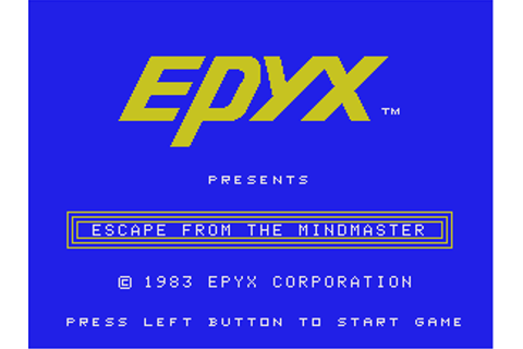 Download Escape from the Mindmaster (ColecoVision) - My ...