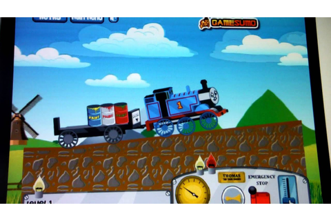lets play: Thomas the tank engine online game part 1 - YouTube