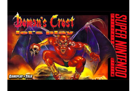 Let's Play Demon's Crest for the SNES - YouTube