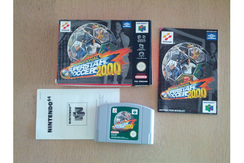 International Superstar Soccer 2000 (Nintendo 64 ...