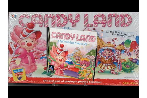 CANDYLAND CD ROM - Cereal Box Game - YouTube