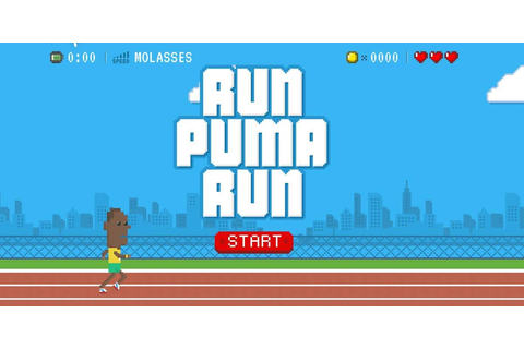 Run Puma Run Game is Pure Pixel Olympic Goodness