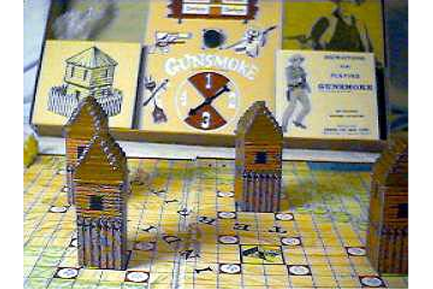Gunsmoke: The Board Game