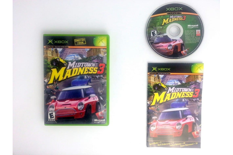Midtown Madness 3 game for Xbox (Complete) | The Game Guy