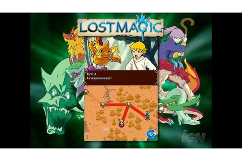Lost Magic Videos, Movies & Trailers - Nintendo DS - IGN