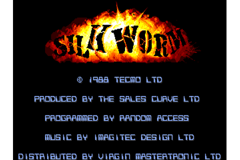 Silkworm - The Company - Classic Amiga Games