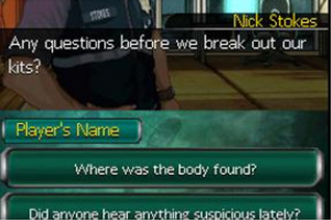 CSI: Unsolved! (DS) News, Reviews, Trailer & Screenshots