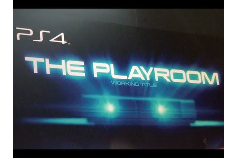 The Playroom (working title) by Sony for PS4 at E3 2013 ...