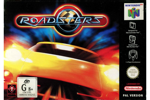 Roadsters (2000) Dreamcast box cover art - MobyGames