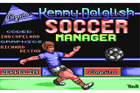 Download Kenny Dalglish Soccer Manager - My Abandonware
