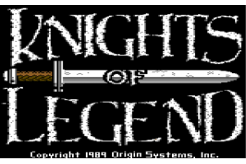 Game Classification : Knights of Legend (1989)