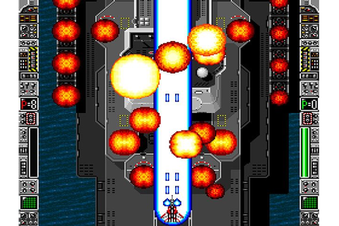 Strike Gunner: S.T.G (1992) by Athena SNES game