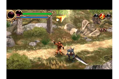 PSP Minis Quick Gameplay (Hero of Sparta) - YouTube