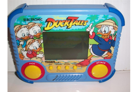 HANDHELD GAME, DISNEY'S DUCK TALES, TIGER, 1990, WALT ...