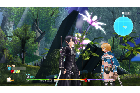 Sword Art Online Re: Hollow Fragment available on Steam on ...