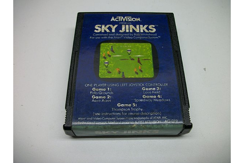 Sky Jinks, Atari 2600 game loose