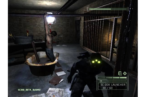 Tom Clancy's Splinter Cell Chaos Theory (Rip) Full indir