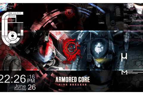 armored core nine breaker by shingiboy on DeviantArt