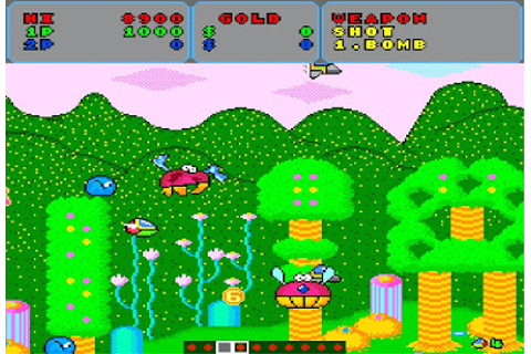 My all time favourite video games: Fantasy Zone - Sharp ...