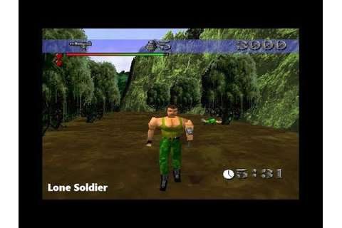 Lone Soldier PS1 Playthrough - This Is The Most Beautiful ...