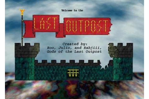 The Last Outpost Download Free Full Game | Speed-New
