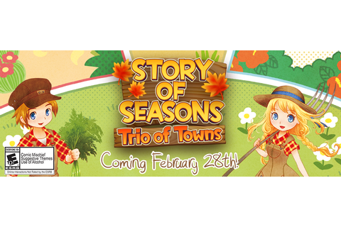 The Bachelorettes of 'Story of Seasons: Trio of Towns': An ...
