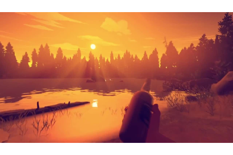 Firewatch - Gameplay-Trailer von der E3 2015 - YouTube